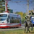 В Павлодаре запустили новые трамваи