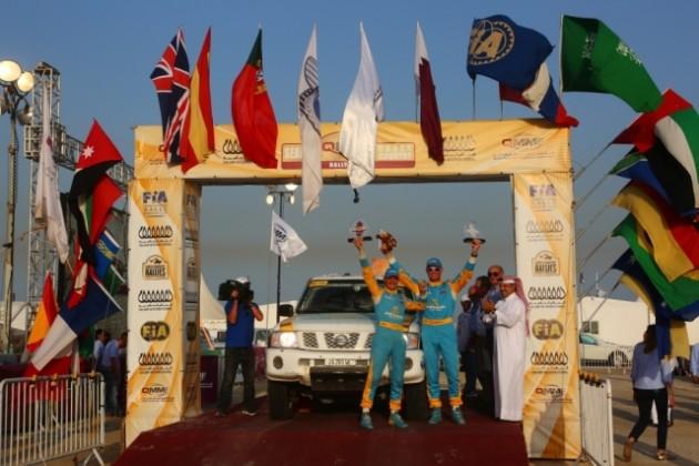Казахстанцы завершили ралли-рейд в Катаре