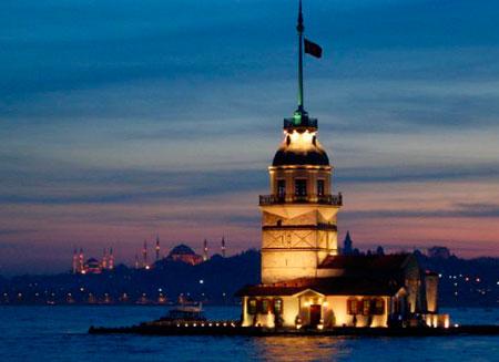 Знаменитая стамбульская Девичья башня продается