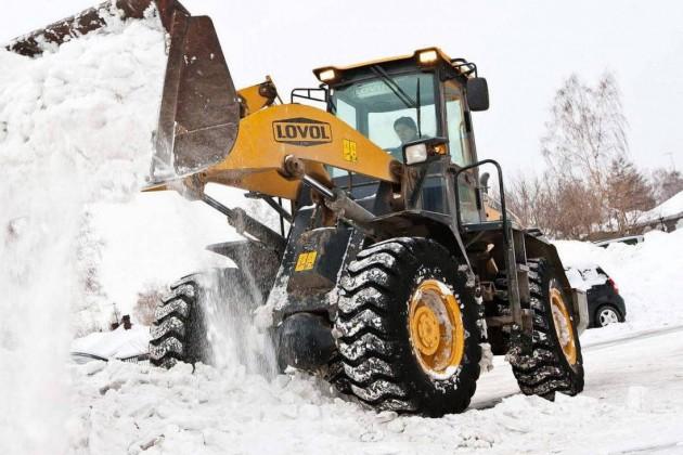 Небывалое количество снега запоследние 10лет выпало вАстане