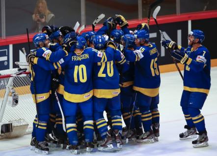 Швеция встретится со Швейцарией в финале ЧМ по хоккею