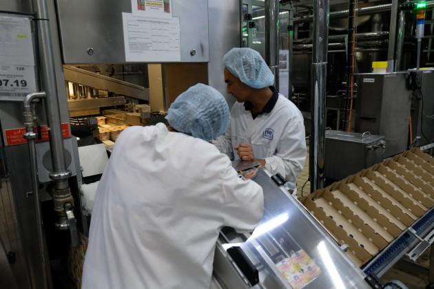 Крупный и средний бизнес увеличил объем реализации продукции