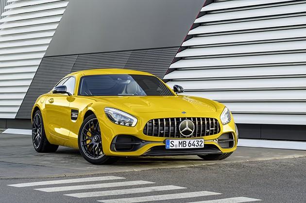 Покупатели могут выбрать свой вариант модели Mercedes-AMGGT