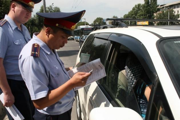 В Жамбылской области выявлено 340 нарушителей ПДД