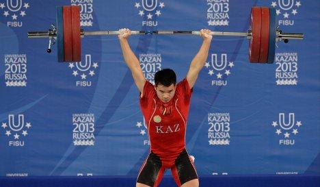 Казахстанский тяжелоатлет Фархад Харки уличен в применении допинга
