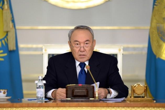 Президент РК встретился с главой компании Тоталь