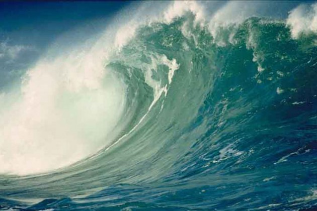 На Чили обрушилось цунами