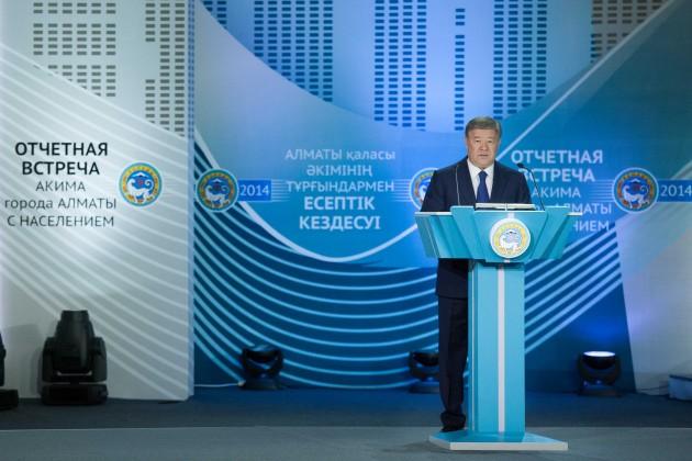 Безработица в Алматы не растет, уверен Есимов