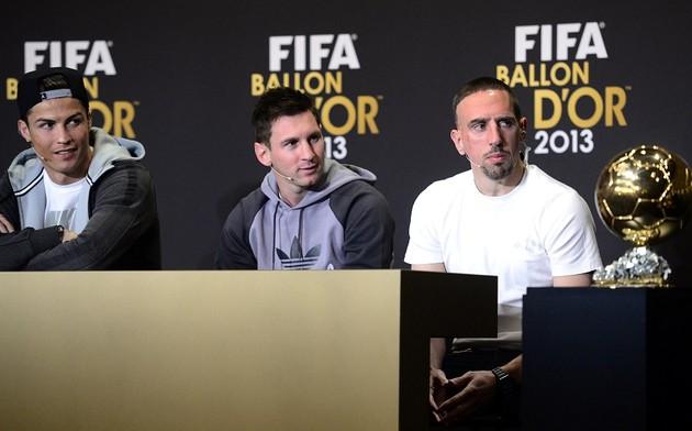 Рибери считает что Роналду незаслуженно получил «Золотой мяч»