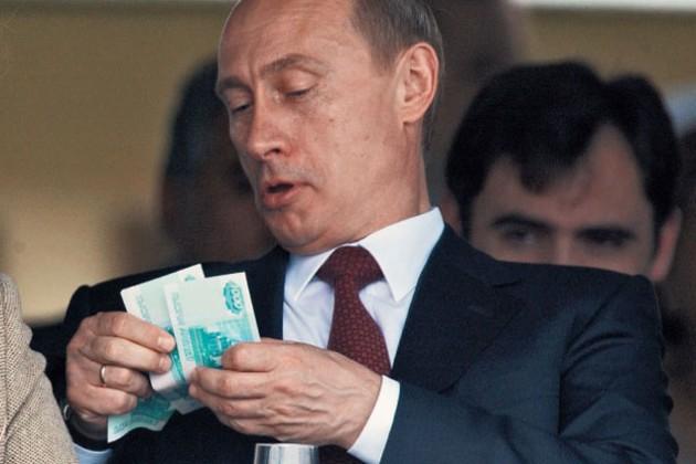 Путин увеличил зарплату себе и Медведеву