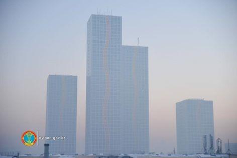Насовещании вакимате Астаны обсудили проблему смога над городом