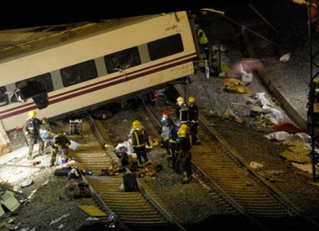 65 человек погибли в Испании из-за аварии