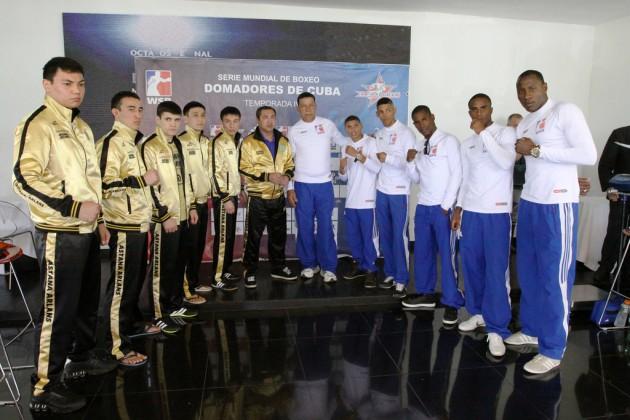 Боксеры Astana Arlans готовы ко встрече с Cuba Demadores