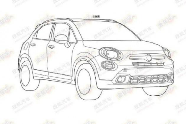 Fiat запатентовал дизайн SUV