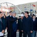 Амандык Баталов проверил строительство объектов