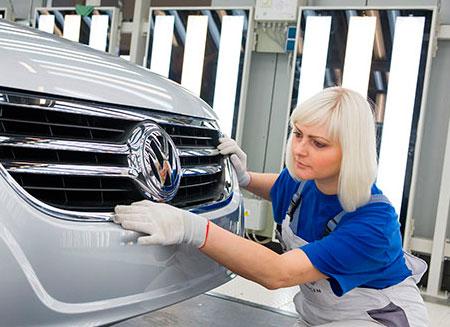 Новый кроссовер от Volkswagen появится в 2016 году