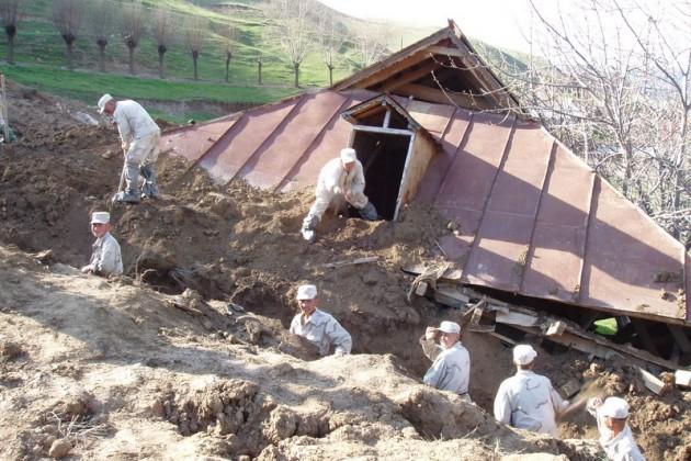 Больше 20человек пострадали отоползня вКыргызстане
