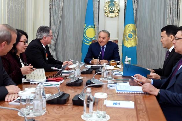 Президенту представили главного исполнительного директора Chevron
