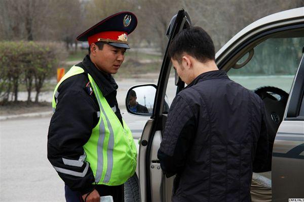 Взятки на дорогах чаще всего дают на юге РК
