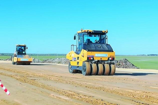 Реконструкция автодороги Мерке - Бурылбайтал завершится в 2022 году