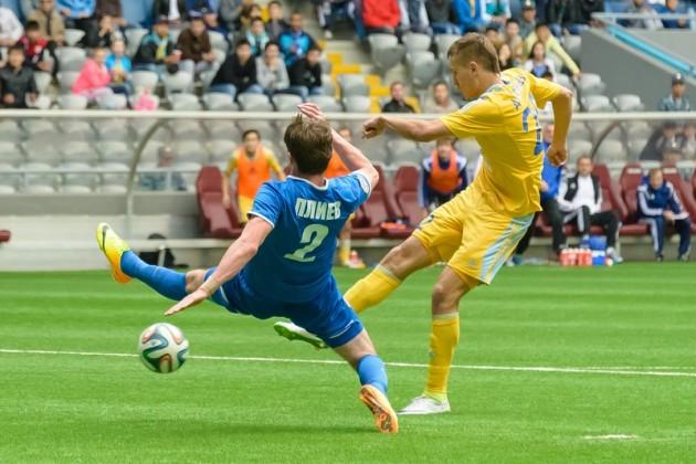 В казахстанской премьер-лиге наступил перерыв