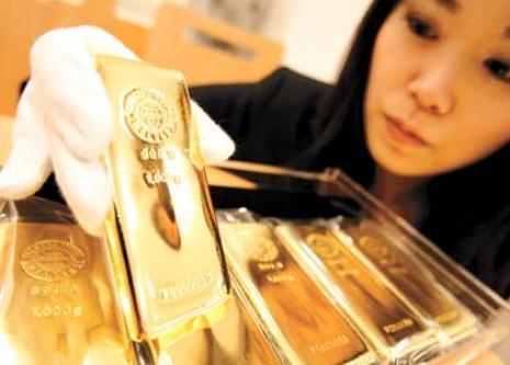 Китай намерен увеличить резервы золота до 3%