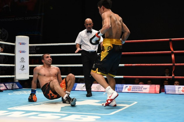 Astana Arlans начал с победы новый сезон Всемирной серии Бокса