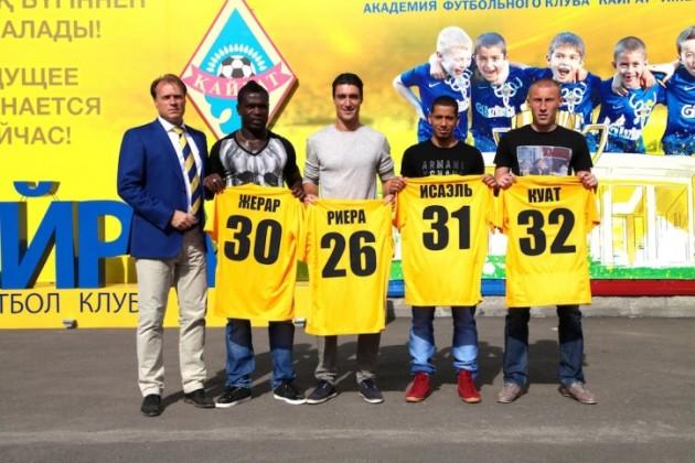 «Кайрат» пополнил состав новыми игроками