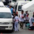 В Таиланде перевернулся автобус с туристами