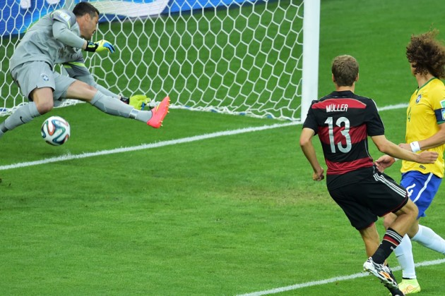 Англичанин угадал счет матча Бразилия – Германия