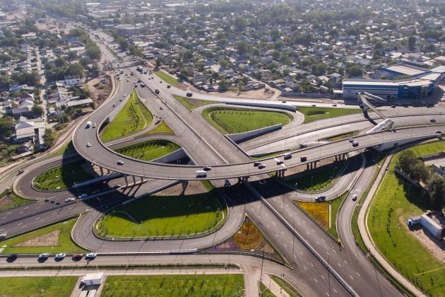 В Алматы отремонтируют пять транспортных развязок