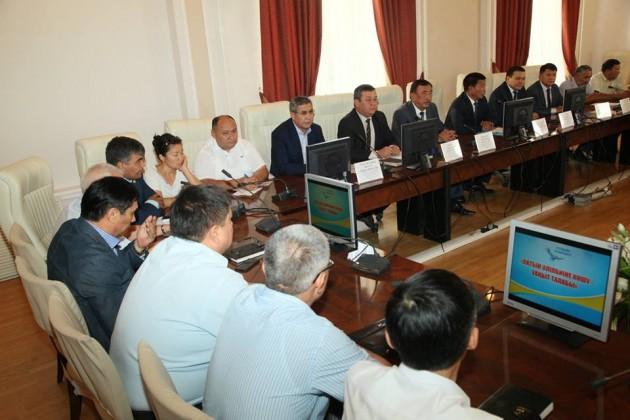 Вальма-матер Южно-Казахстанской области поддержали переход налатиницу
