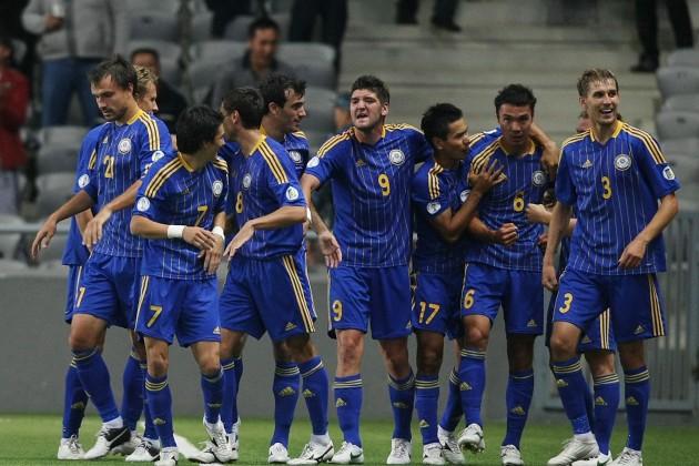 Казахстан попал в 6-ю корзину для жеребьевки Euro-2016