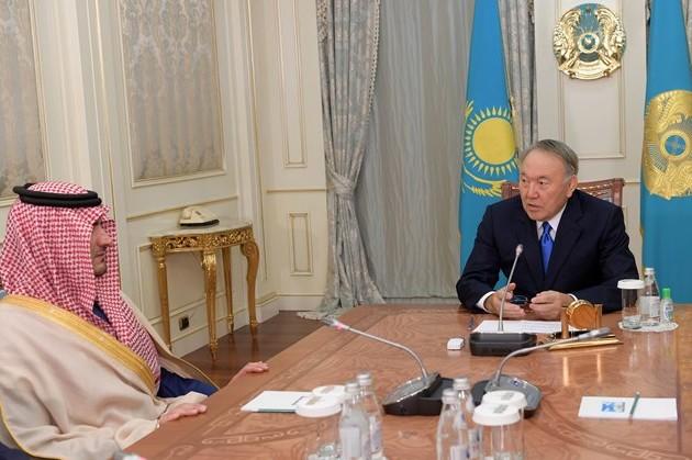 ГлаваРК поблагодарил Саудовскую Аравию заподдержку встроительстве Астаны