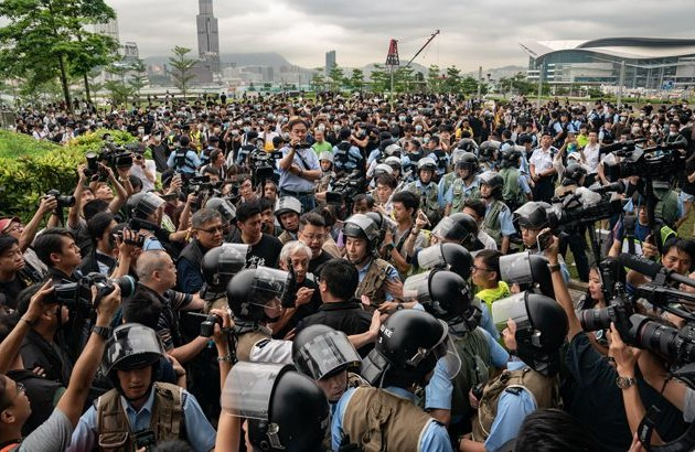 Казахстанцы не пострадали в Гонконге во время массовых протестов