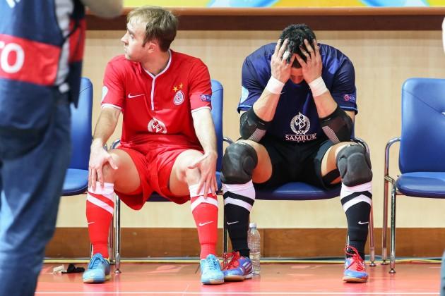 «Кайрат» остался без медалей Кубка УЕФА по футзалу