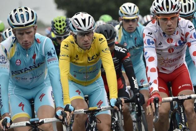 Гонщики «Астаны» продолжают лидировать на «Тур де Франс - 2014»
