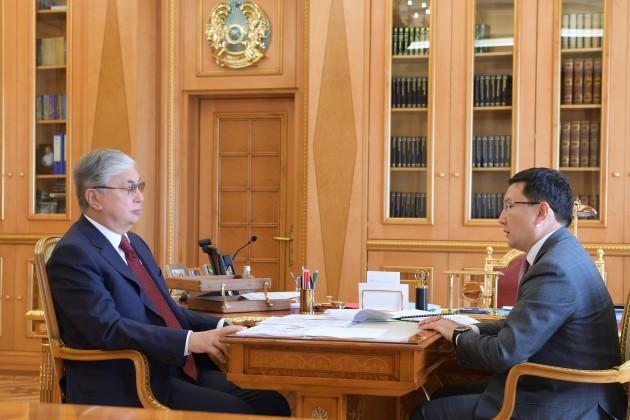 Президент поручил активизировать работу «Байтерека» по развитию МСБ