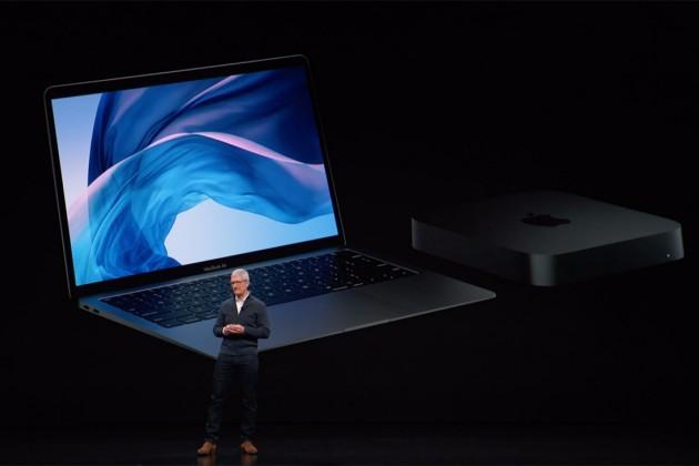 Apple презентовала новый Macbook Air иMac mini