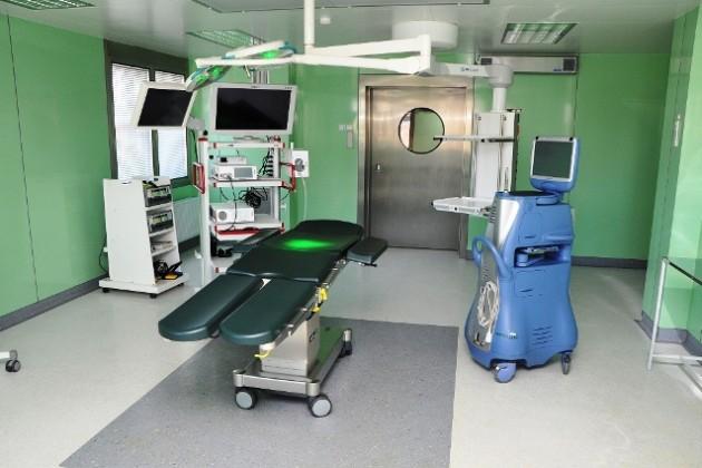 В военном госпитале Минобороны новый операционный блок
