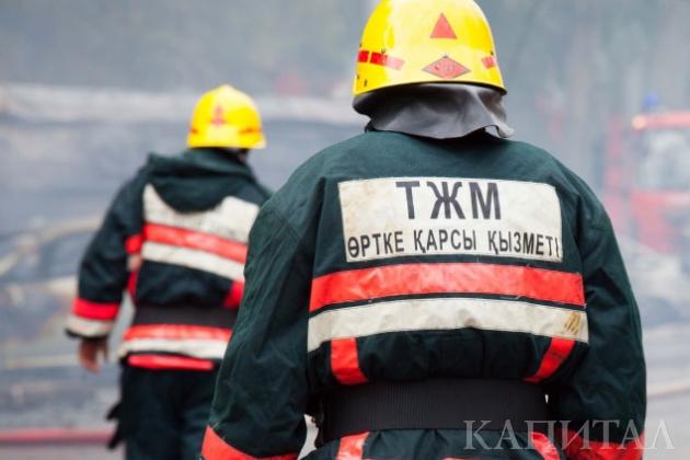ВДоме министерств проходят противопожарные учения