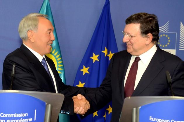 Назарбаев проведет встречу с экс-председателем Европейской комиссии