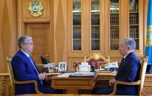 Нурлан Нигматулин рассказал Президенту о работе Мажилиса