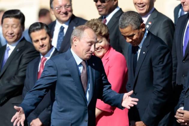Американцы считают Путина сильнее Обамы