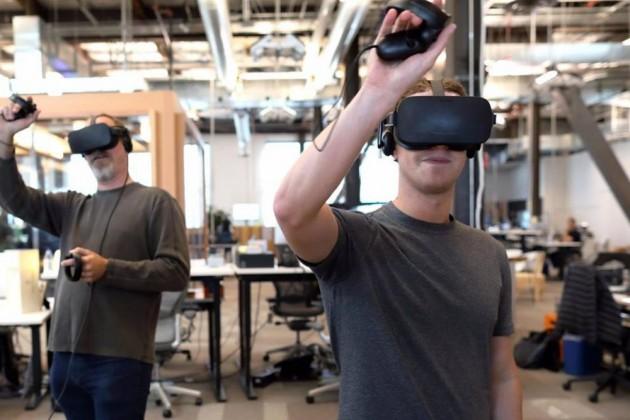 Facebook рассчитывает на1млрд пользователей виртуальной реальности