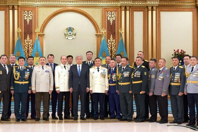 Даулет Ергожин и Алик Шпекбаев получили новые звания