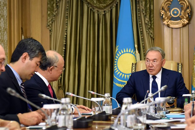 Директор МАГАТЭ поблагодарил Нурсултана Назарбаева