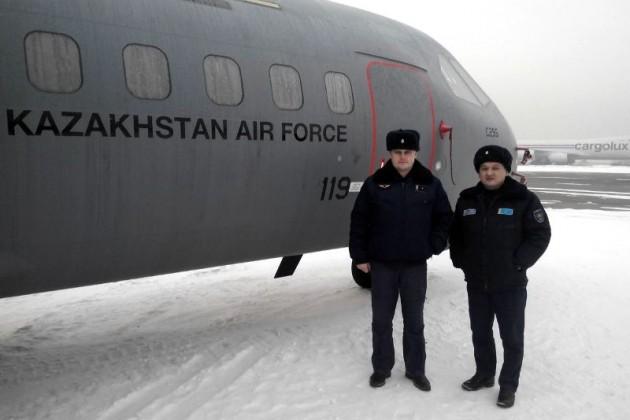 ВВС Казахстана получили новый военно-транспортный самолет