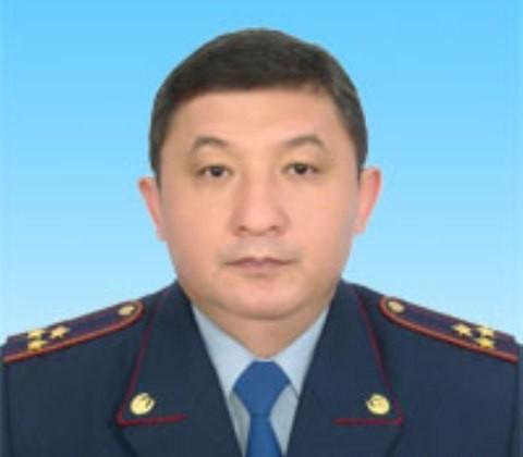 Сменился глава ДВД Алматинской области