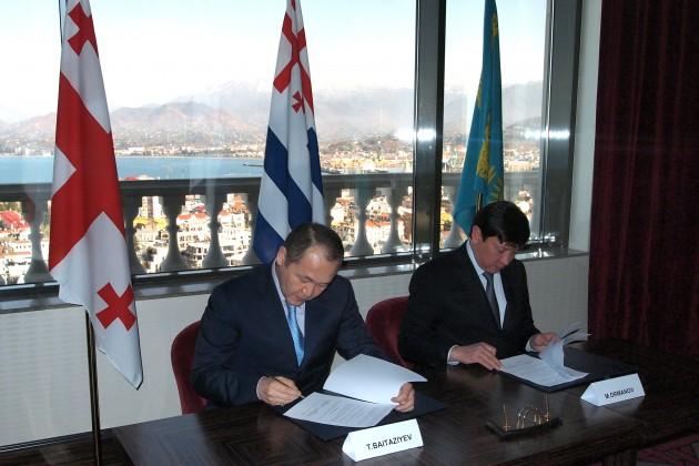 Казахстан развивает транспортный потенциал